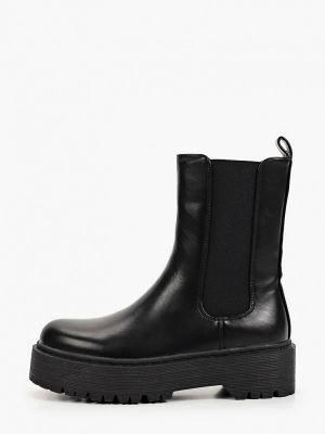 Черные демисезонные сапоги Ideal Shoes®