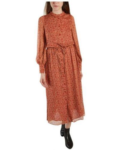 Pomarańczowa sukienka Sessun