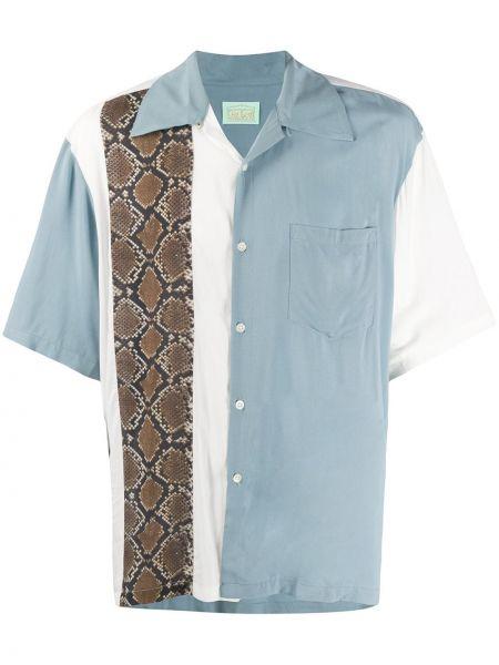 Koszula krótkie z krótkim rękawem klasyczna z kieszeniami Aries