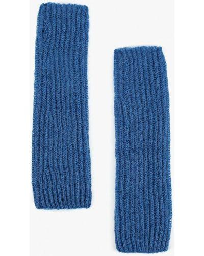 Синие митенки United Colors Of Benetton