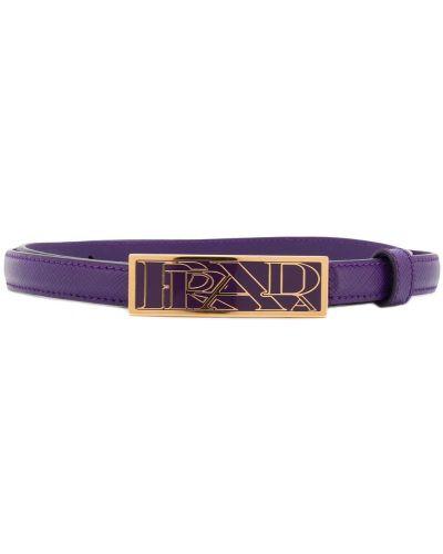 Ремень с логотипом фиолетовый Prada
