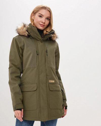 Горнолыжная куртка осенняя зеленая Dc Shoes