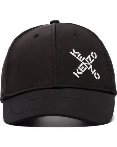 Бейсболка с логотипом - черная Kenzo