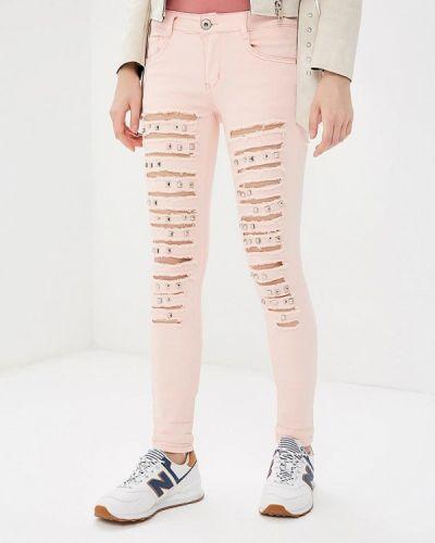Розовые брюки Regular