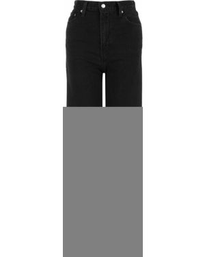 Джинсы с высокой посадкой широкие черные Levi's®