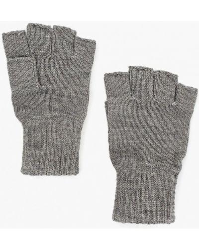 Текстильные серые перчатки Jack & Jones