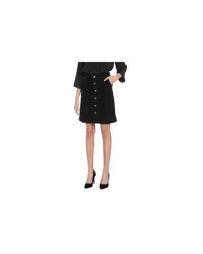 Джинсовая юбка черная Tommy Jeans