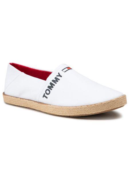 Półbuty casual - białe Tommy Jeans