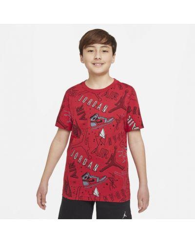 Czerwona bluza dzianinowa Jordan