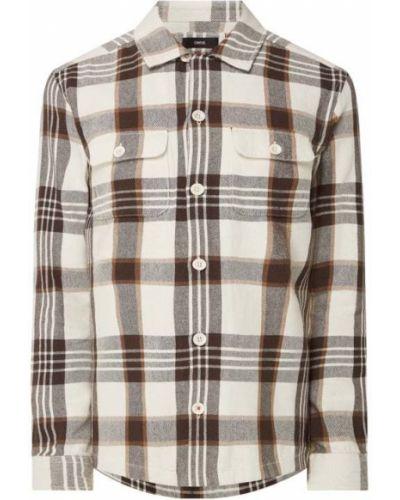 Flanelowa koszula - beżowa Cinque