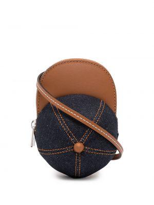 Niebieska czapka bawełniana Jw Anderson