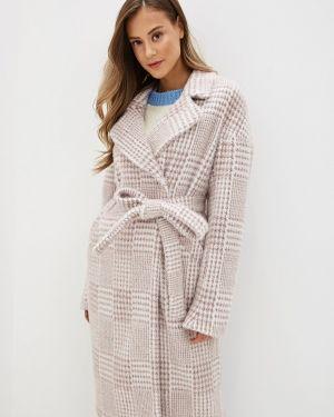 Пальто демисезонное розовое Ylluzzore