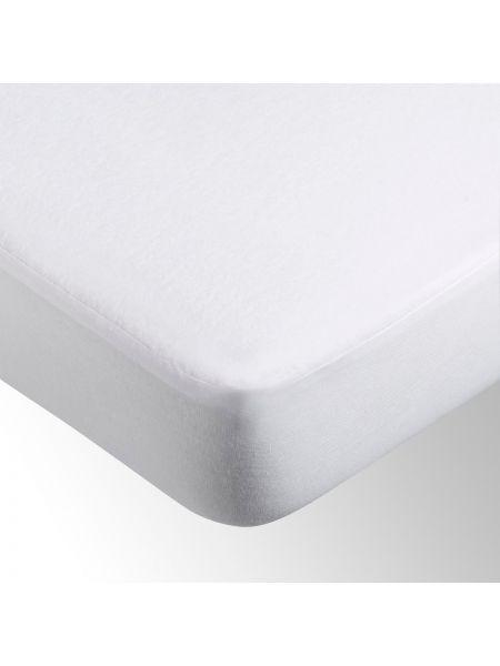 Белый чехол для матраса водонепроницаемый La Redoute Interieurs