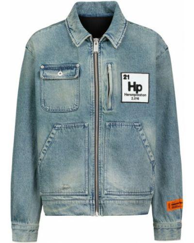 Kurtka jeansowa vintage - niebieska Heron Preston