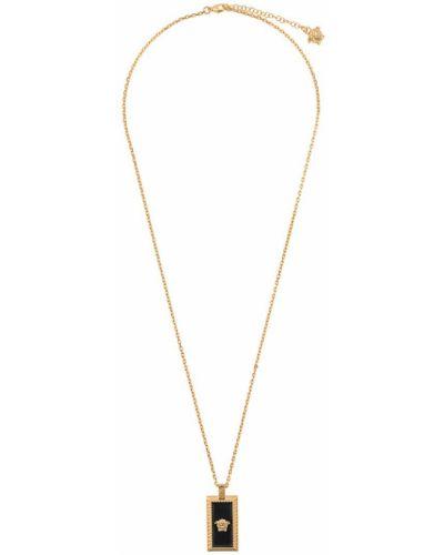 Ожерелье золотой желтый Versace