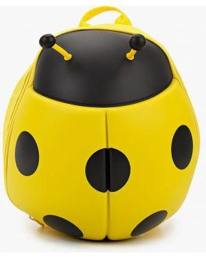 Рюкзак текстильный желтый Supercute