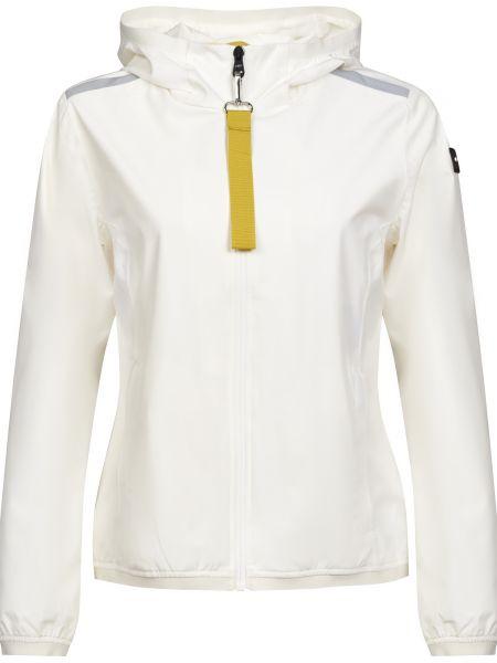 Белая куртка на молнии с подкладкой Cmp