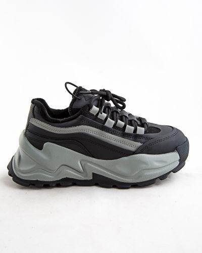 Серые ботинки осенние Sidestep