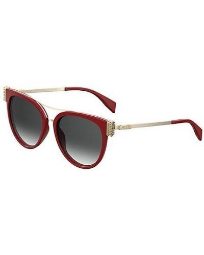 Солнцезащитные очки металлические очищающие Moschino
