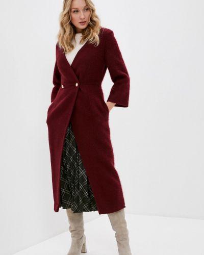 Красное пальто двубортное Vivaldi