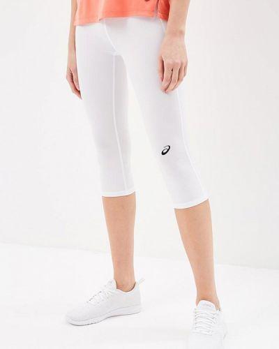 Белые брюки Asics