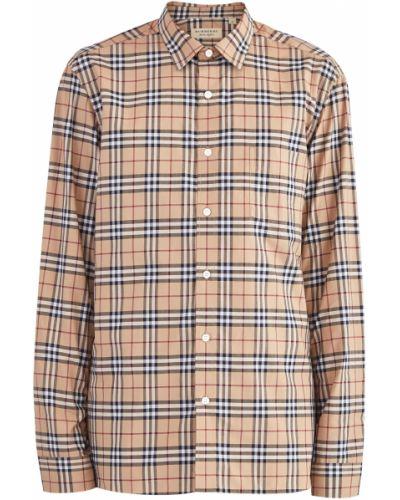 Рубашка прямая винтажная Burberry