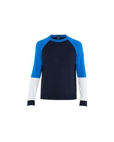 Синий спортивный свитер Armani Jeans