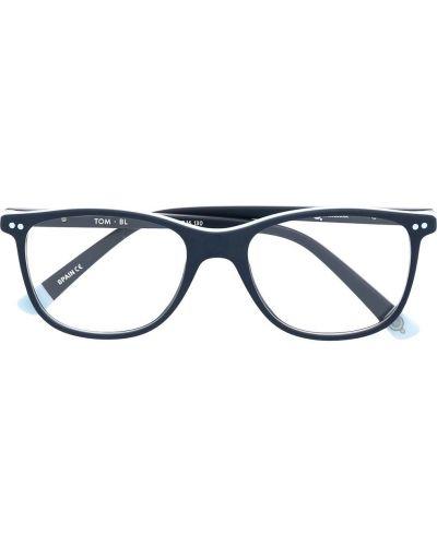 Синие прямые очки прямоугольные Etnia Barcelona