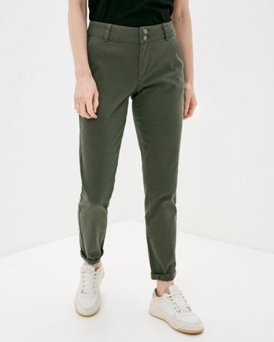 Повседневные зеленые брюки Q/s Designed By
