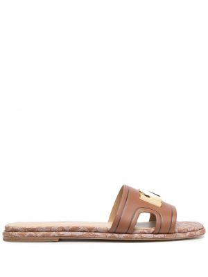 Sandały, złoto Michael Michael Kors