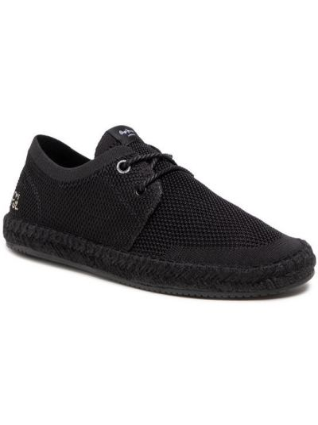 Espadryle - czarne Pepe Jeans