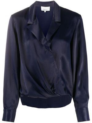 Блузка с воротником с манжетами на пуговицах из вискозы 3.1 Phillip Lim