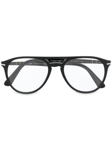 Czarny oprawka do okularów Persol