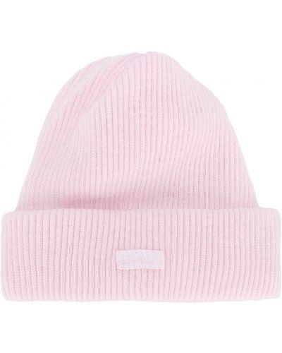 Ватная хлопковая розовая шапка бини Absorba