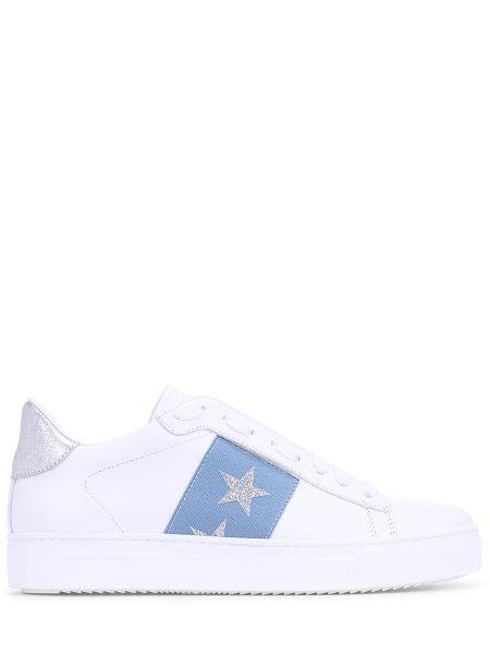 Кроссовки белый с логотипом Stokton