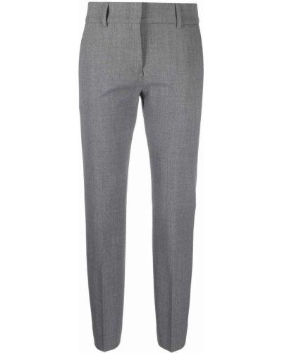 Укороченные брюки - серые Piazza Sempione