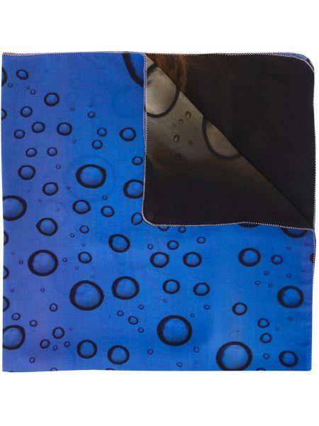 Шелковая синяя юбка Tara Matthews