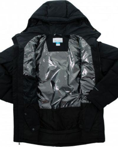 Куртка горнолыжная с капюшоном - черная Columbia