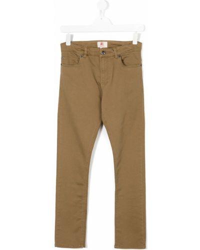 Брюки коричневый American Outfitters Kids