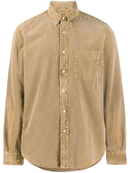 Koszula z długim rękawem długa z kołnierzem Aspesi