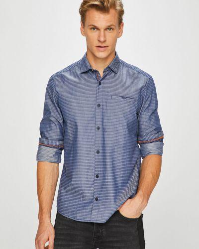 Рубашка с длинным рукавом в клетку хлопковая S.oliver