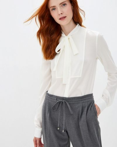 Блузка с бантом белая Woman Ego
