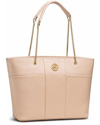 Różowa torebka Lasocki
