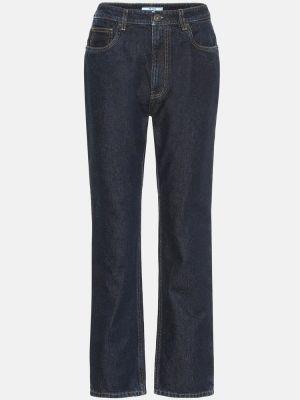 Хлопковые джинсы Prada