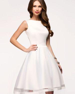 Коктейльное платье из фатина платье-сарафан 1001 Dress