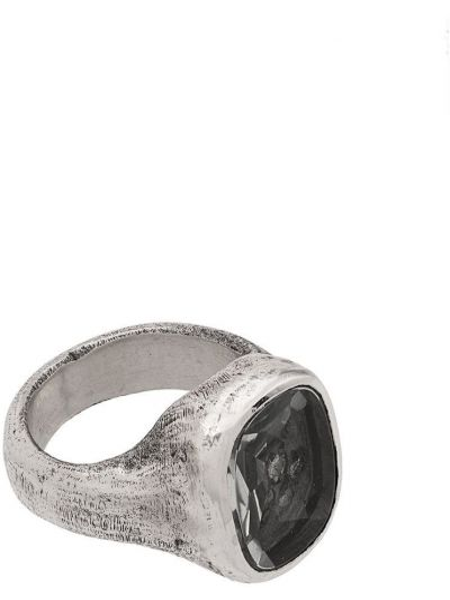 Серебряное кольцо с камнями Tobias Wistisen