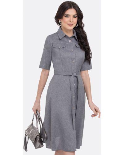 Платье сафари платье-сарафан Dstrend