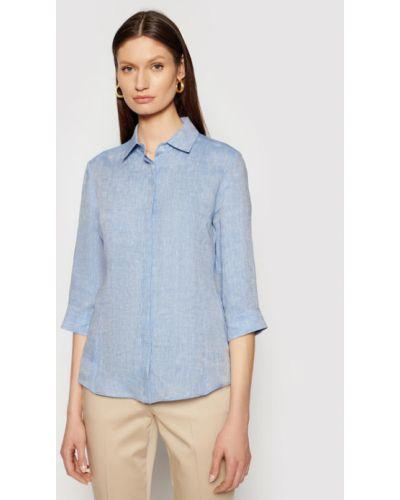 Niebieska koszula Weekend Max Mara