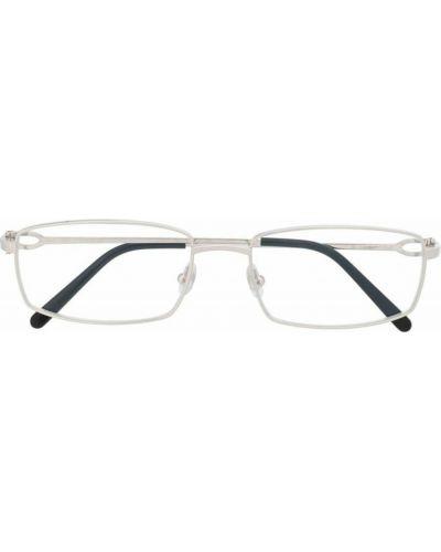 Beżowe okulary Cartier