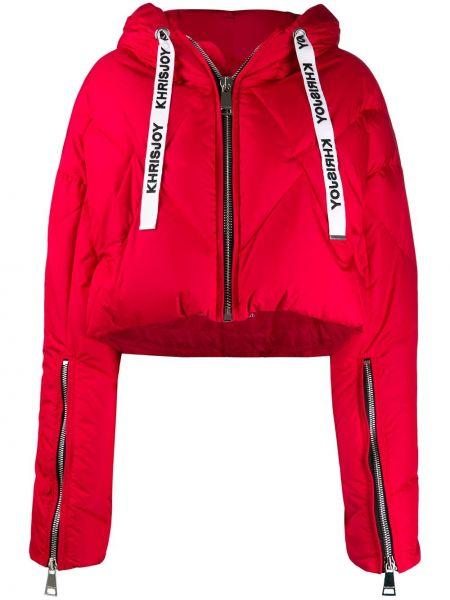 Куртка с капюшоном мятная Khrisjoy